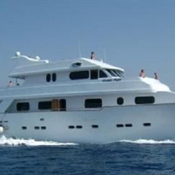 Яхта OCEAN FLYER