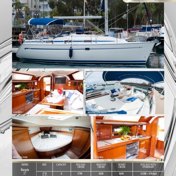 Яхта BAVARIA 37